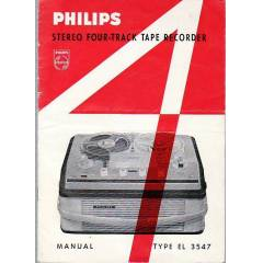 Philips Makara Teyp Type El 3547 Model K�lavuzu