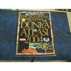 *ENCYCLOPEDIA MILLENIA D�NYA ATLASI 2004*