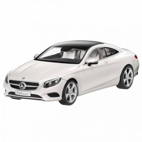 NOREV 1:18 MERCEDES-BENZ S-CLASS COUPE MET BRIGTH