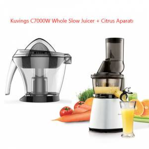 Kuvings Slow Juicer C7000 : Kuvings C7000 Whole Slow Juicer+ Citrus Aparati GittiGidiyor da 279621225