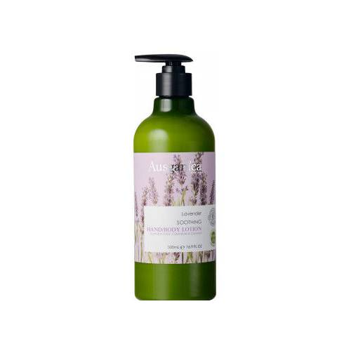 Ausganica Lavender Soothing Hand & Body Lotion 500 ml.