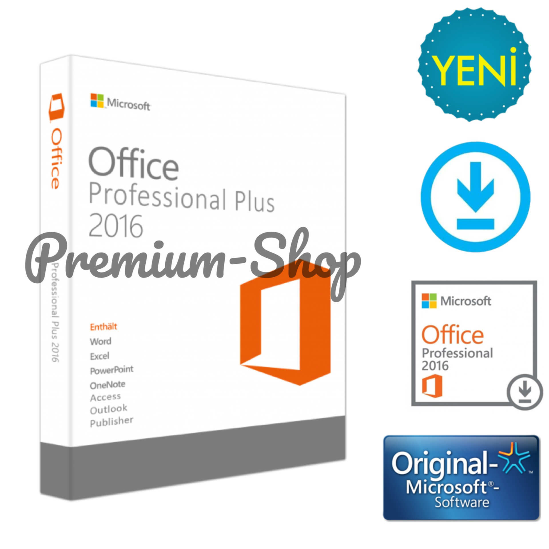 Office 2010 - home and business - key card (pkc) x