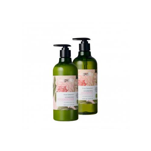 Ausganica Rose Geranium Nourishing Shampoo & Conditioner 500