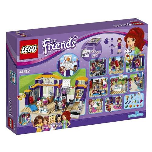 LEGO Friends 41312 Heartlake Sports Centre Building Toy