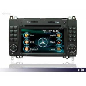 MERCEDES VITO NAVIGASYON TV  BLUETOOTH USB IPOD