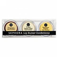 SEPHORA LIP BUTTER@@@3'L� SET
