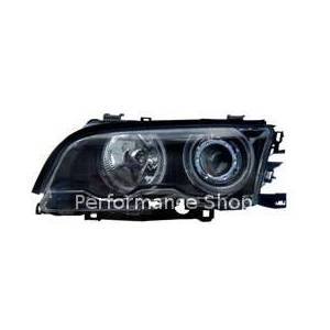 BMW E46 2D 98-01 Siyah Angel Eyes enc�l �n Far