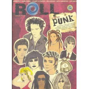 ROLL (No: 114) Punk-Sex Pistols-Helldorado