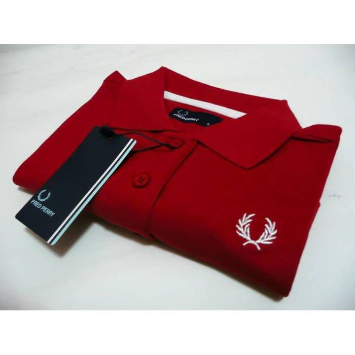 FRED PERRY LACOSTE BAYAN POLO YAKA t-shirt small