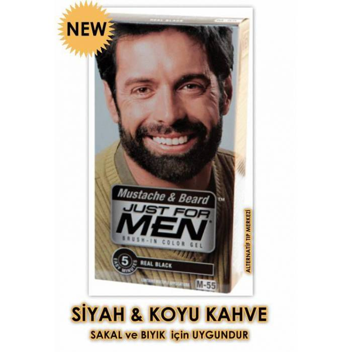 JUST FOR MEN �ZEL ,SAKAL,BIYIK BOYASI-M55
