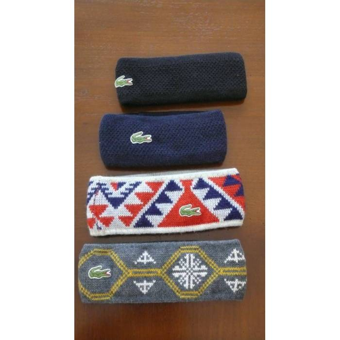 LACOSTE Sa� band� (Headband) * Tenis & Kayak