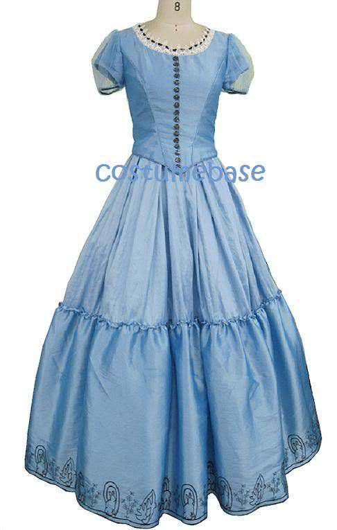 Alice Blue Dress In Wonderland costume