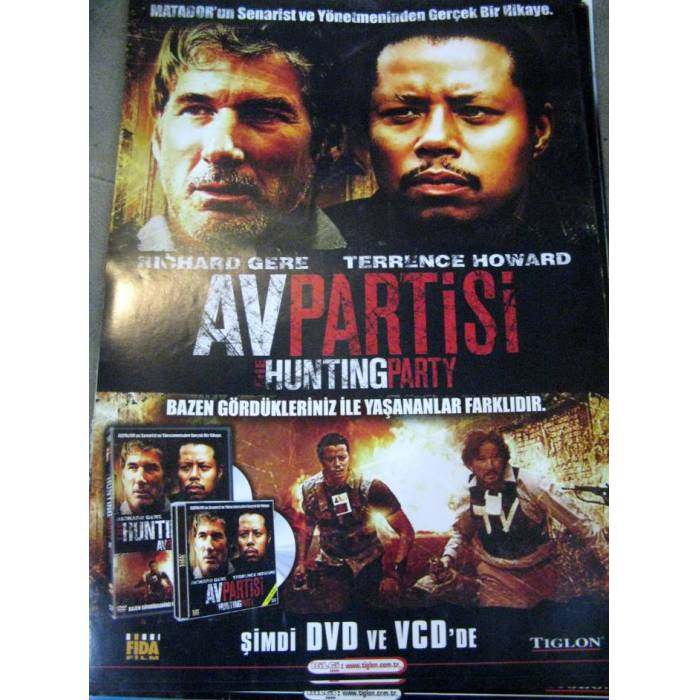 POSTER ~~ AV PART�S� RICHARD GERE