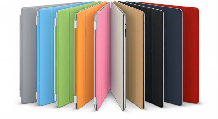 EN UCUZ Apple iPad 2 Smart Cover - Mavi