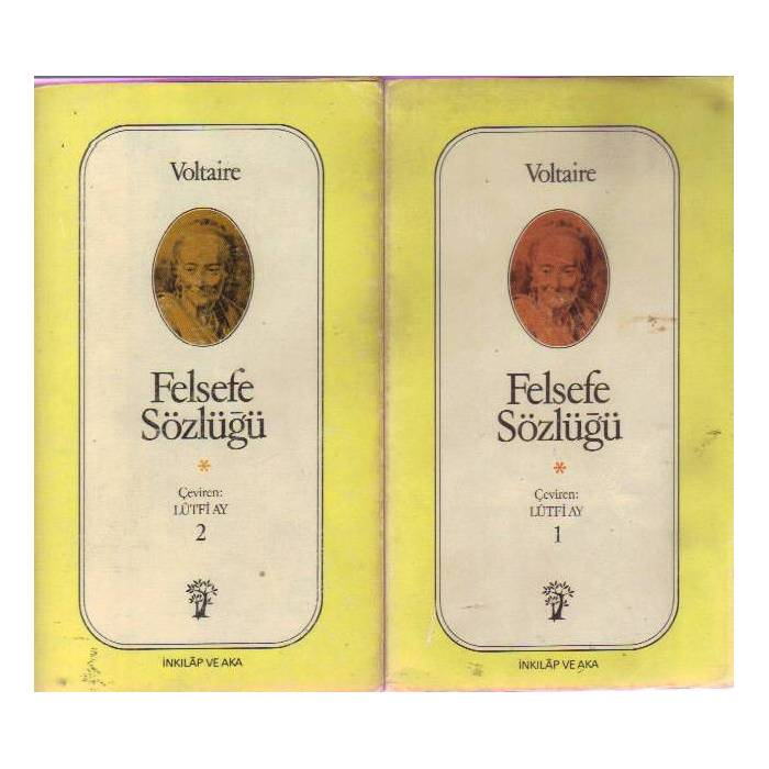FELSEFE S�ZL��� 1-2 ( �K� C�LT) - VOLTA�RE -1977