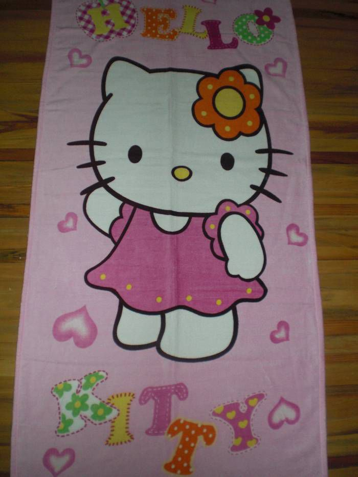HELLO KITTY  PLAJ HAVLUSU 75*150 CM