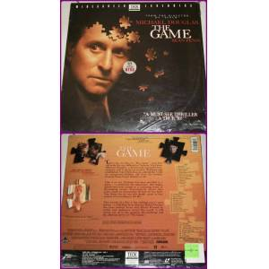 THE GAME - F�LM - LASER VIDEODISC