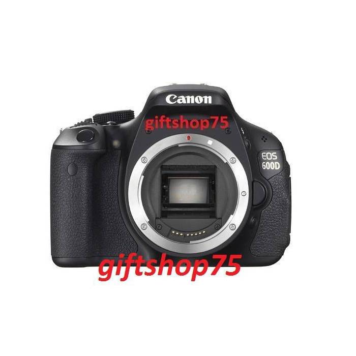 Canon EOS 600D + 18-135mm Lens - FULL
