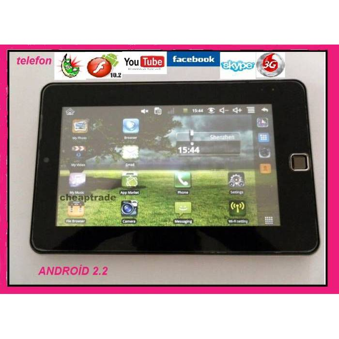 7'' TELEFON TABLET PC 3G ANDROID 2.2 MULTITOUCH