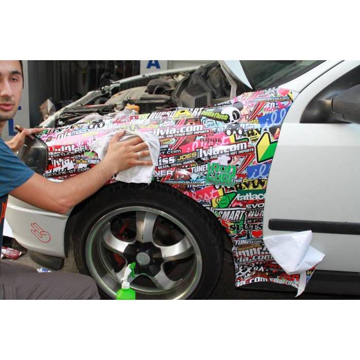 Hellaflush �amurluk Sticker 100x100 cm hella flu