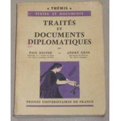 THEM�S - TRA�TES ET DOCUMENTS D�PLOMAT�QUES