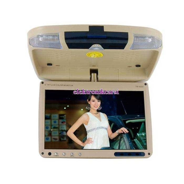 "9"" Araba i�in tavana Monte LCD Monit�r"