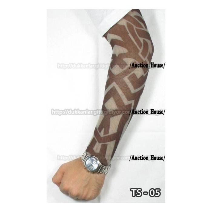 Giyilebilir �orap D�VME / Tattoo Sleeve �.No 05