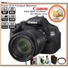 Canon EOS 600D 18-55 18-135 mm Lens 18MP