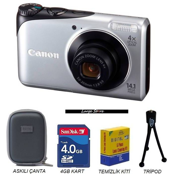 CANON A2200 14 MP HD Dijital Foto�raf Makinesi