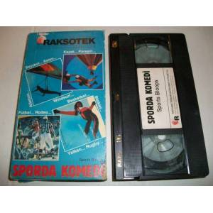 SPORDA KOMED� VHS VIDEO KASET