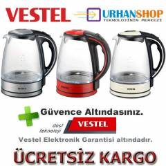 Vestel V-BRUNCH Glass Su Isıtıcı Kettle Ketıl