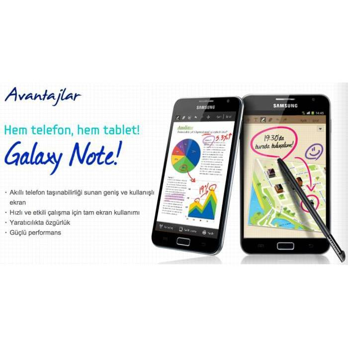 Hem Telefon.. Hem Tablet.. Samsung Galaxy NOTE