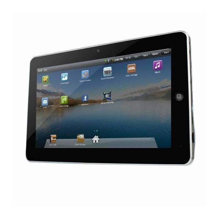 Tablet pc 4gb android 2.2  10'' +3g sim kartl�