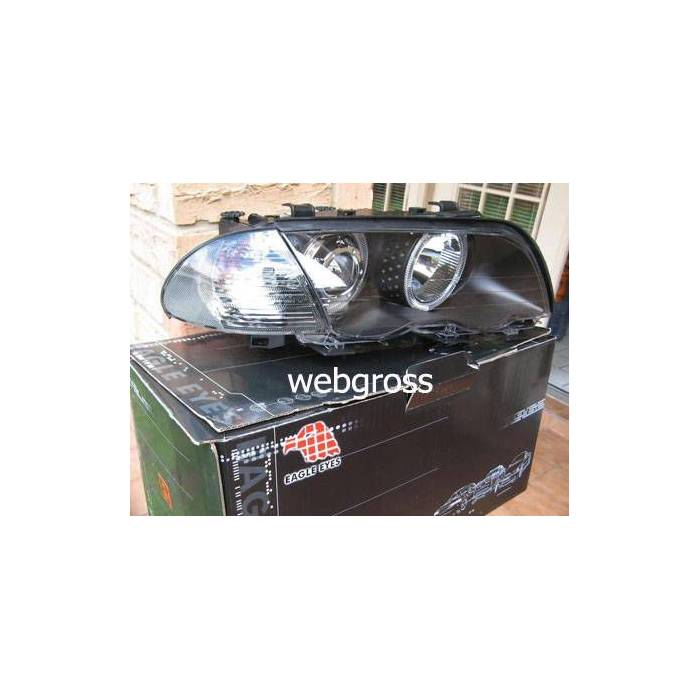 BMW E46 Angel Eyes Enc�l �n Far 2 Kap� Sedan