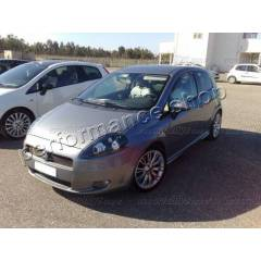 Fiat Grande Punto 05-10 Siyah angel eyes �n Far