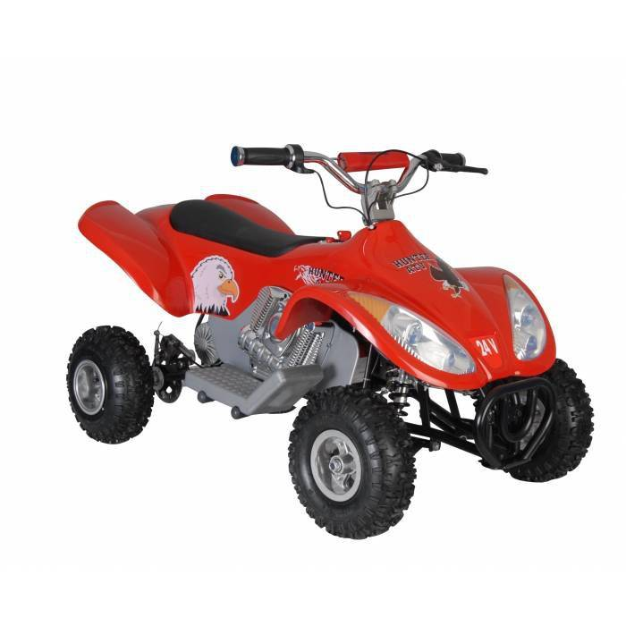 HUNTER AK�L� ARABA ATV 24 VOLT 350 WATT 05 226