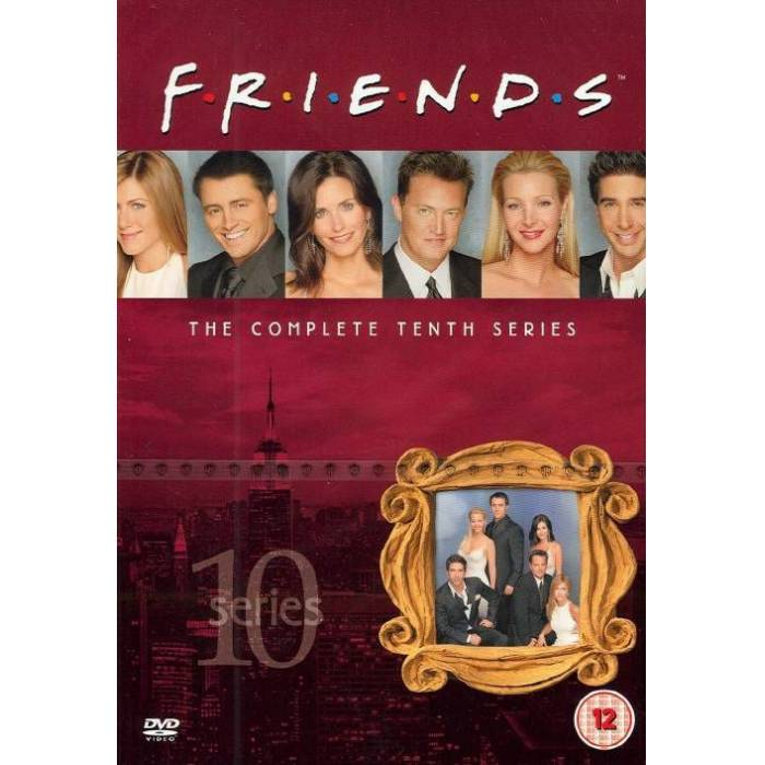 FRIENDS THE COMPLETE TENTH SERIES. STOKTA