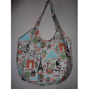 SWEET PARIS DREAM KOTON HOBO �ANTA BAHARLIK