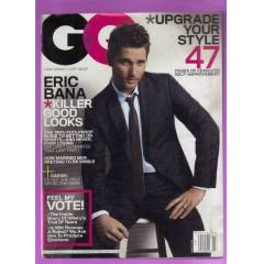 GQ ERKEK DERG�S�-MARCH-2008-�NG�L�ZCE
