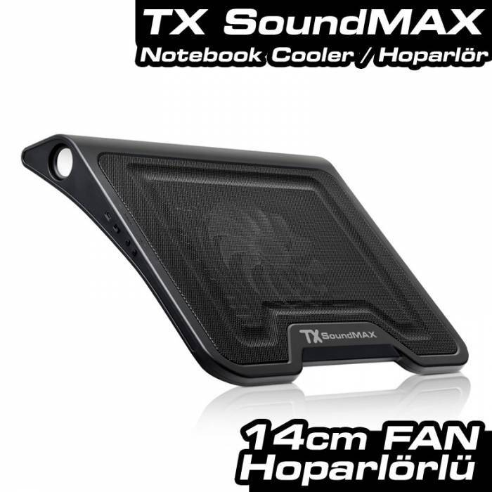 TX Soundmax Hoparl�rl� Notebook So�utucu