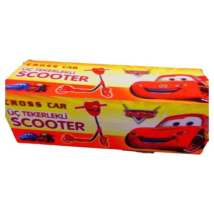 Cars �im�ek Scooter 3 Tekerlekli Scooter
