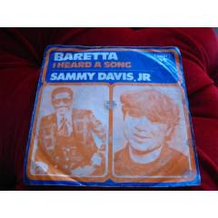 SAMMY DAVIS JR-BARETTA-I HEARD A SONG-45