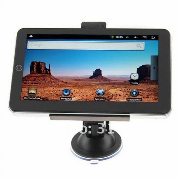 "7"" TABLET PC + GPS NAV�GASYON + ANALOG TV +8 GB"
