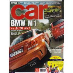 CAR-OTOMOB�L-2011/41-BMW M1-AUDI RS3