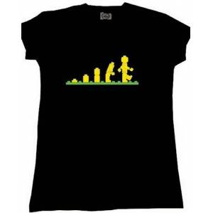 Lego Evolotion (Bayan T-Shirt)  S-M-L-XL