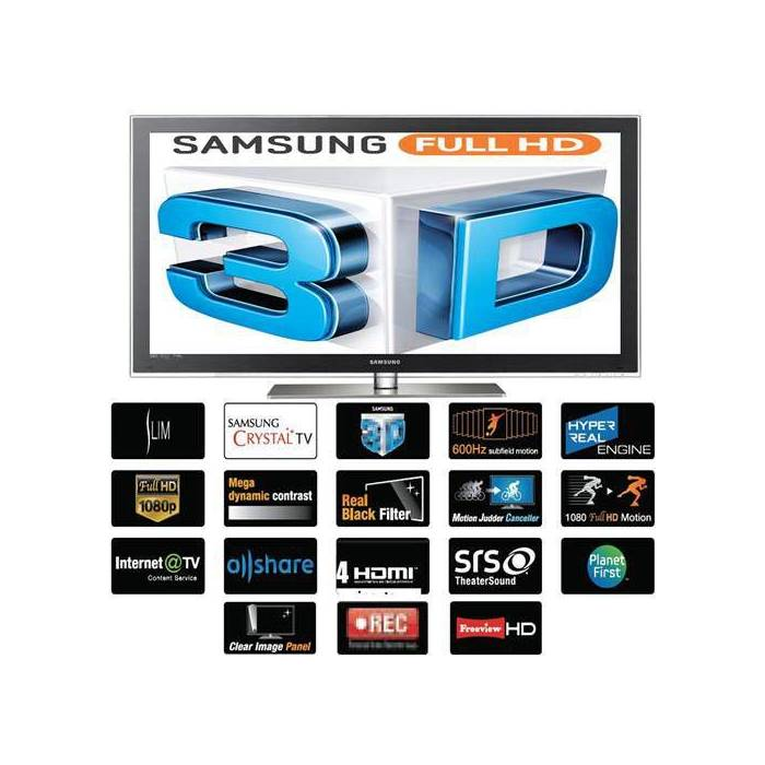 SAMSUNG 50C7000 3D FULL HD 127 EKRAN PLAZMA TV