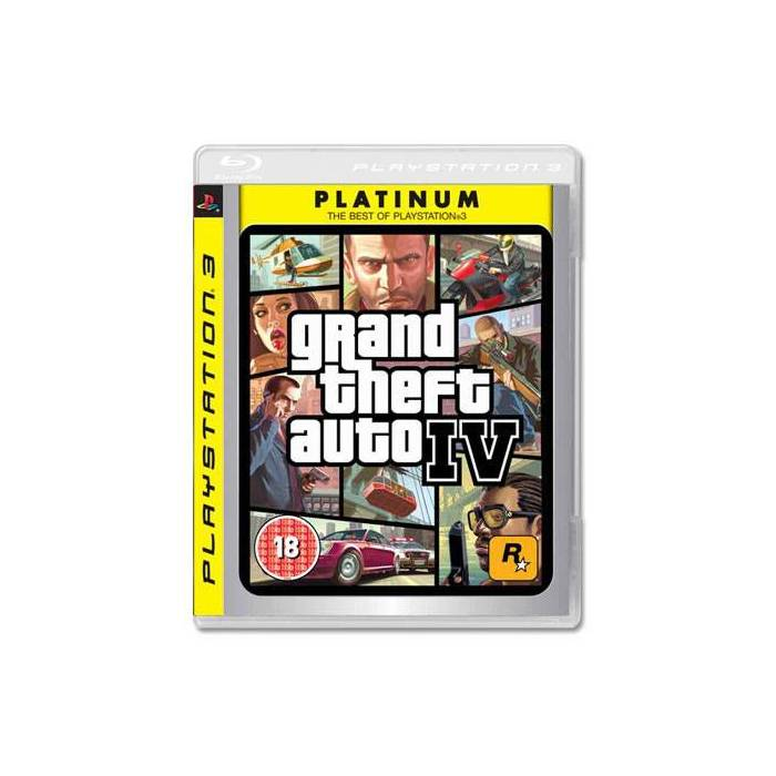 GTA 4 GRAND THEFT AUTO IV PS3 OYUNU