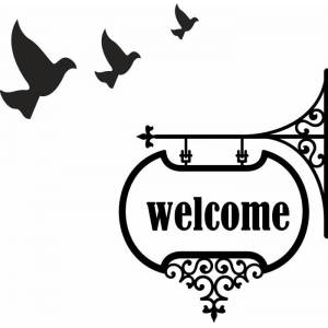 home sticker- welcome2