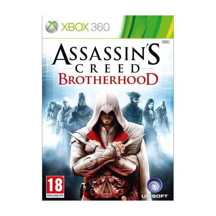 XBOX 360 ASSASSINS CREED BROTHERHOOD PAL SIFIR