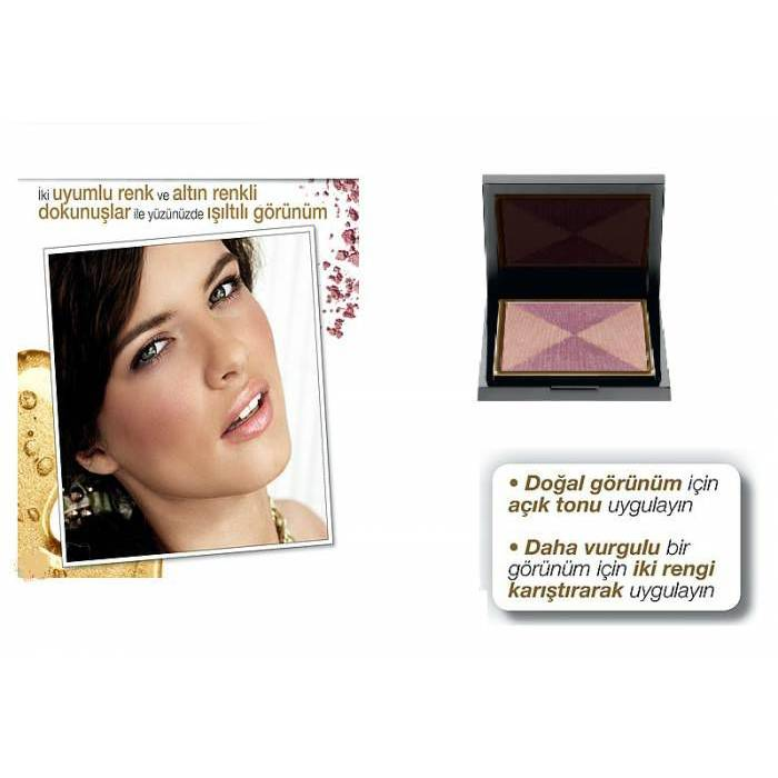 AVON- 24k Gold 2'li All�k-Golden Glamour